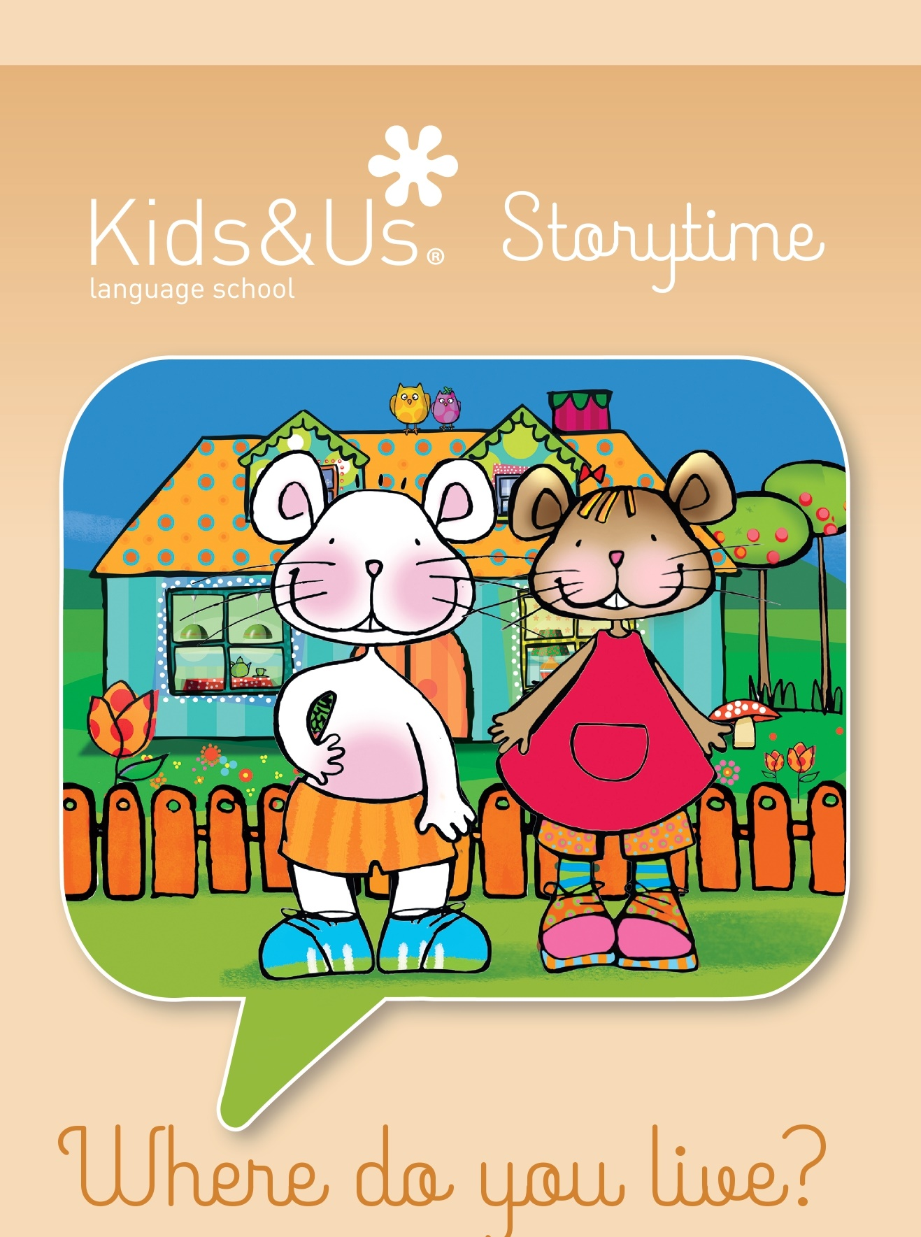 "Story Time for Babies (de 0 a 3 anys): ""Where do you live"", a càrrec de Kids&Us, school of english"